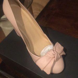 Jcrew, 8M, not worn, soft Pink Pumps.3.75 heels